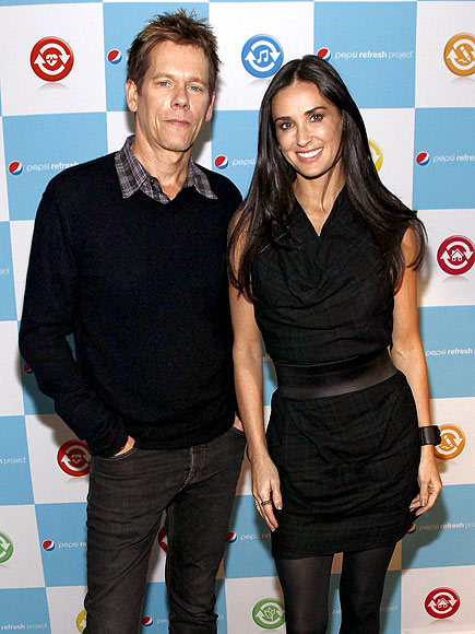 POP CAUSE photo | Demi Moore, Kevin Bacon