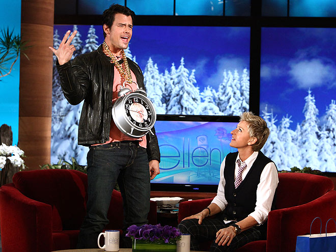 TICK TOCK photo | Ellen DeGeneres, Josh Duhamel
