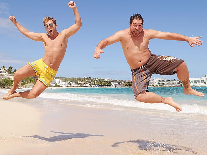 JUMP FOR JOY photo | Joey Fatone, Lance Bass