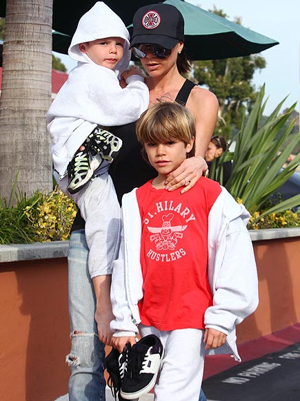 MAMA'S BOYS photo | Victoria Beckham