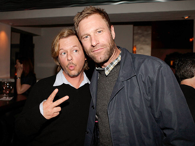 PEACEFUL GREETING photo | Aaron Eckhart, David Spade