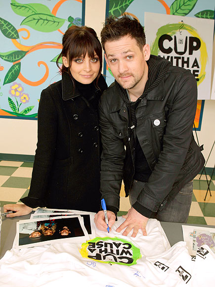 LOVING CUPS photo | Joel Madden, Nicole Richie