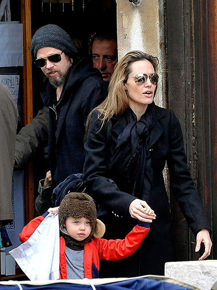 LITTLE ITALY photo | Angelina Jolie, Brad Pitt