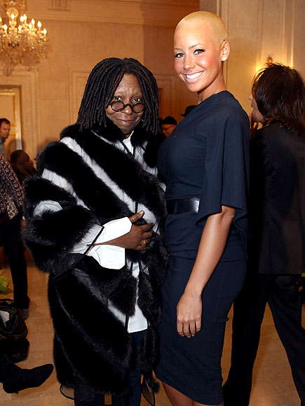 A TALL ORDER photo | Amber Rose, Whoopi Goldberg