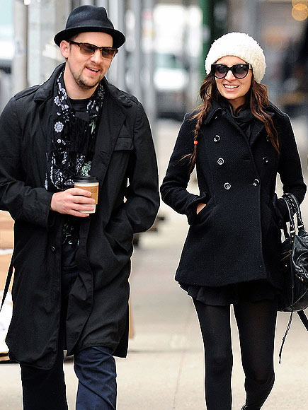IN STRIDE photo | Joel Madden, Nicole Richie