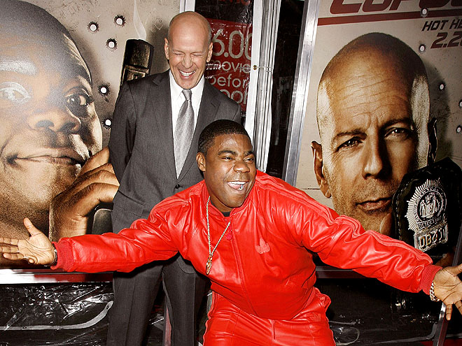 RED CARPET CUT-UP photo | Bruce Willis, Tracy Morgan