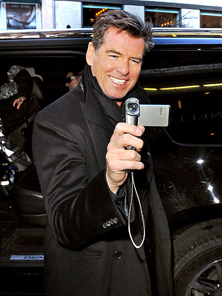 CAMERA MAN photo | Pierce Brosnan
