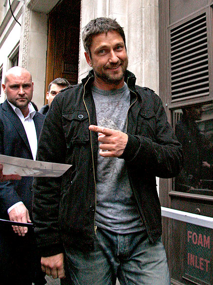POINT MAN photo | Gerard Butler