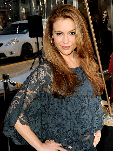 LACED UP photo | Alyssa Milano