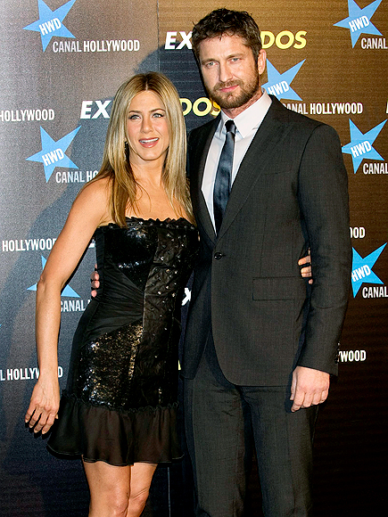 REAL MADRID  photo | Gerard Butler, Jennifer Aniston