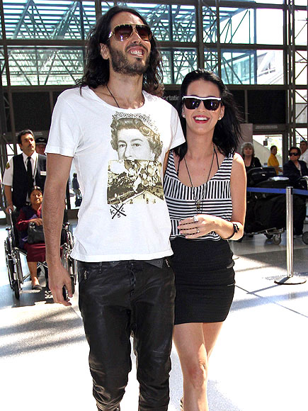 FLYING HIGH photo | Katy Perry, Russell Brand