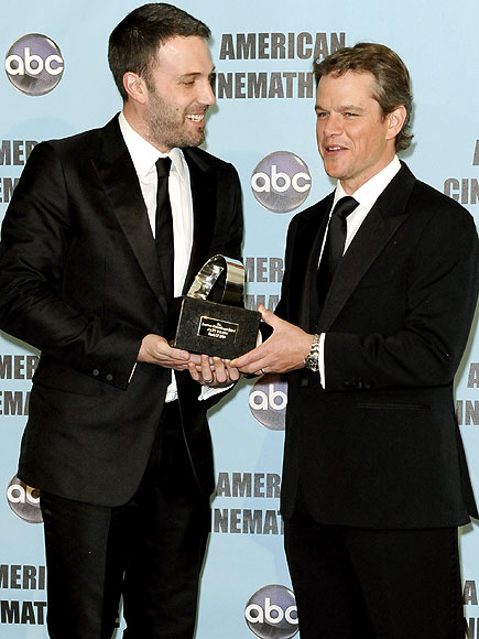 A BFF SALUTE photo | Ben Affleck, Matt Damon