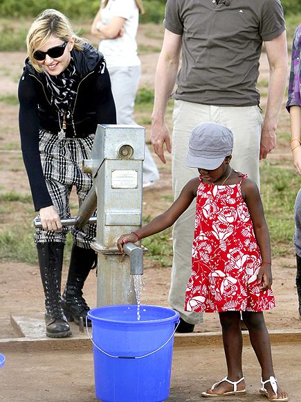 WATER WORKS photo | Madonna