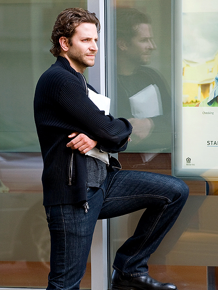 A LEG UP photo | Bradley Cooper