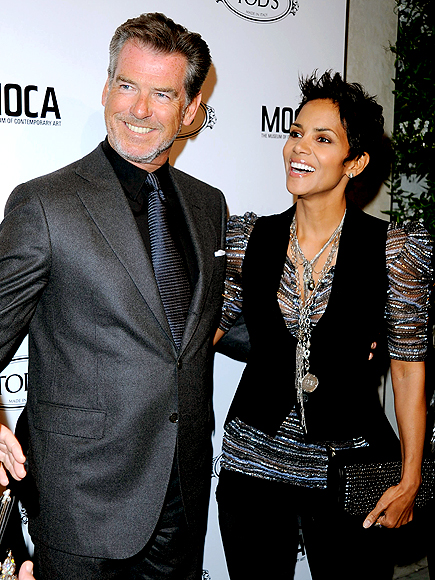 PLAY CATCH UP photo | Halle Berry, Pierce Brosnan