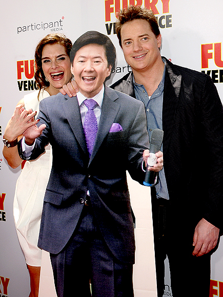 LAUGH RIOT photo | Brendan Fraser, Brooke Shields