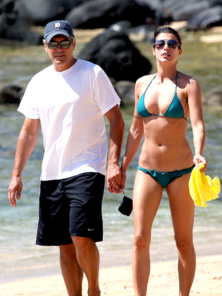 BEACHY KEEN photo | Elisabetta Canalis, George Clooney