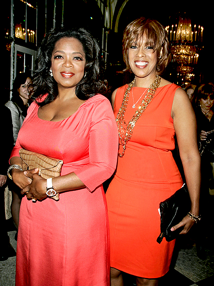 COLOR CODED photo | Gayle King, Oprah Winfrey