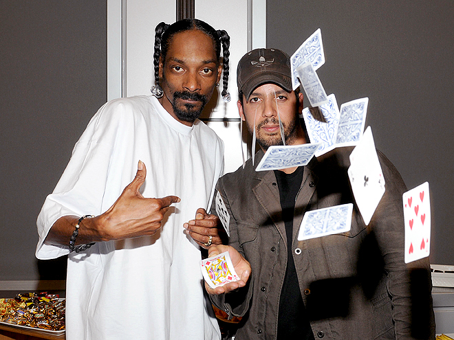 POKER FACE photo | David Blaine, Snoop Dogg