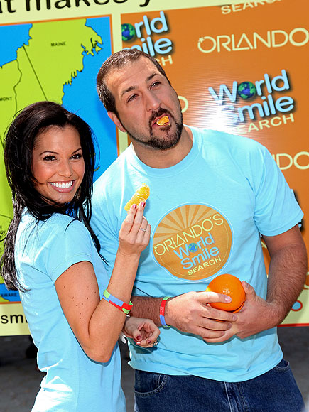 ORANGE YOU GLAD? photo | Joey Fatone, Melissa Rycroft