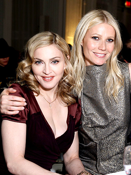 EASY POSE photo | Gwyneth Paltrow, Madonna