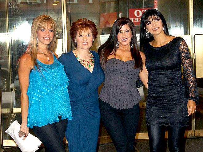 JERSEY? SURE! photo | Caroline Manzo, Dina Manzo, Jacqueline Laurita, Teresa Giudice