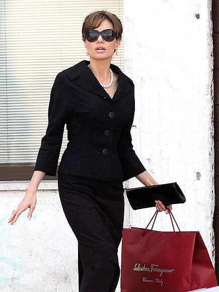 FOLLOWING SUIT? photo | Angelina Jolie