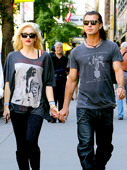 LINKED IN photo | Gavin Rossdale, Gwen Stefani