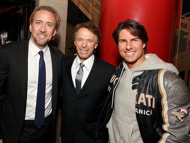 LEADING MEN photo | Jerry Bruckheimer, Nicolas Cage, Tom Cruise