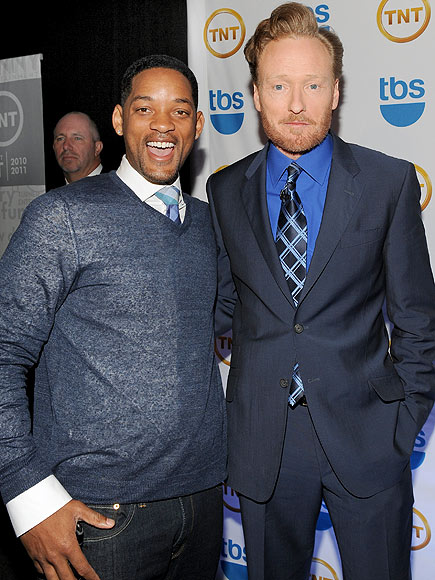 SUPPORT NETWORK photo | Conan O'Brien, Will Smith