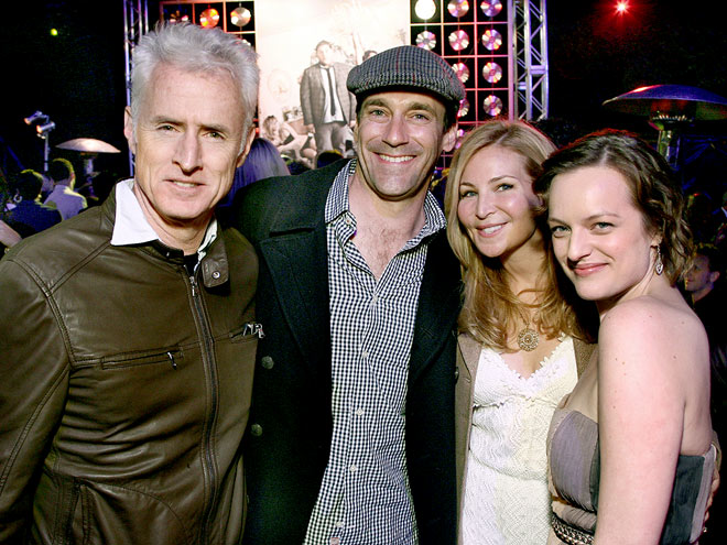 'MAD' CONNECTIONS photo | Elisabeth Moss, Jennifer Westfeldt, John Slattery, Jon Hamm