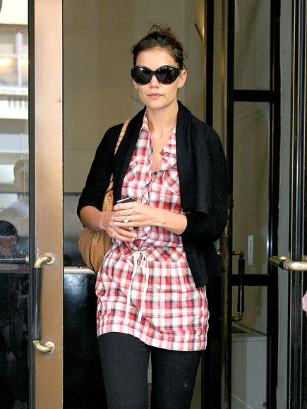 MAD FOR PLAID photo | Katie Holmes