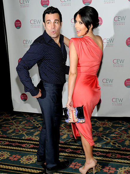 BUMMED OUT photo | Kim Kardashian, Mario Cantone