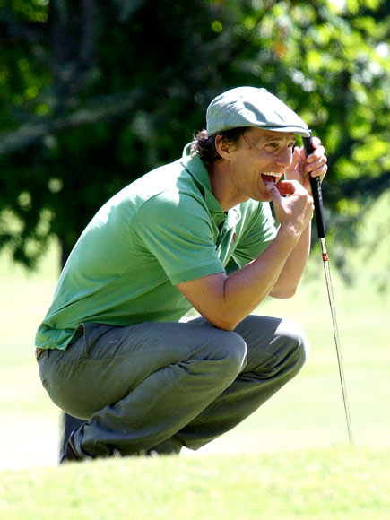 IN THE GREEN photo | Matthew McConaughey