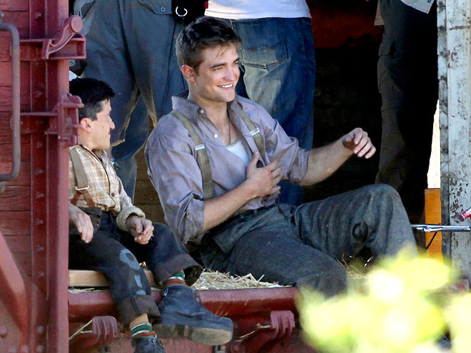 TRAIN SPOTTING photo | Robert Pattinson