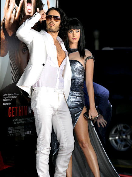 IT'S ALL 'GREEK' photo | Katy Perry, Russell Brand