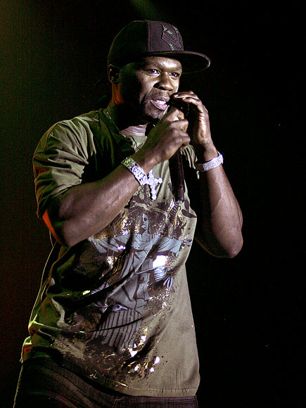 STAGE PRESENCE photo | 50 Cent
