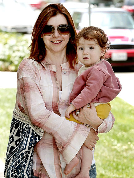 REALLY ROSY photo | Alyson Hannigan