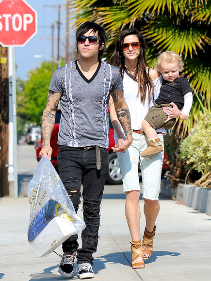 L.A. LOOK photo | Ashlee Simpson, Pete Wentz