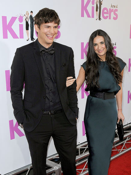'KILLER' COUPLE photo | Ashton Kutcher, Demi Moore