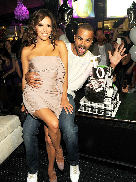 CAKE BOSS photo | Eva Longoria, Tony Parker