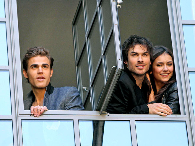 PEEP SHOW photo | Ian Somerhalder, Nina Dobrev, Paul Wesley