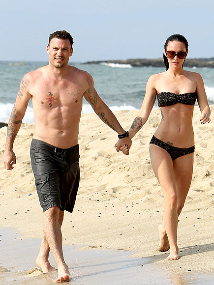 BEACHY KEEN photo | Brian Austin Green, Megan Fox