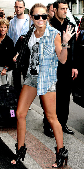 SHORTS STUFF photo | Miley Cyrus