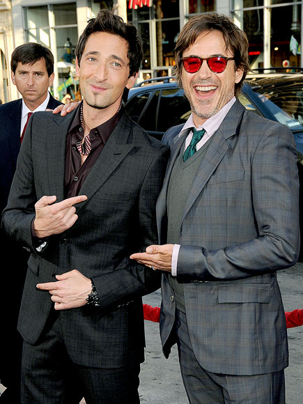 HE'S THE MAN photo | Adrien Brody, Robert Downey Jr.