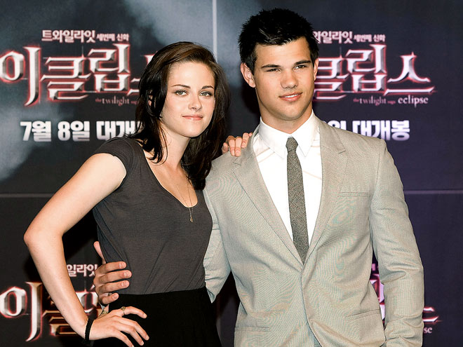 MEET THE PRESS photo | Kristen Stewart, Taylor Lautner