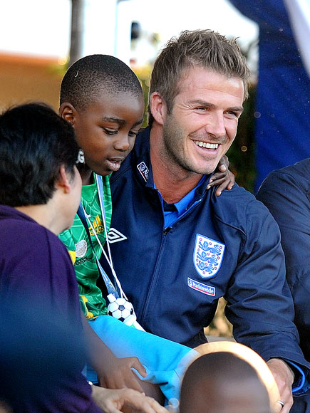 LAP IT UP photo | David Beckham
