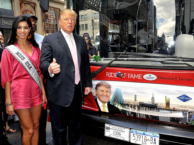HE'S BUS-TED! photo | Donald Trump, Rima Fakih