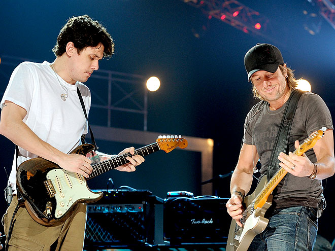 JAM SESSION photo | John Mayer, Keith Urban