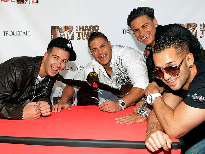 SUPPORT SYSTEM photo | Mike Sorrentino, Ronnie Magro, Vinny Guadagnino